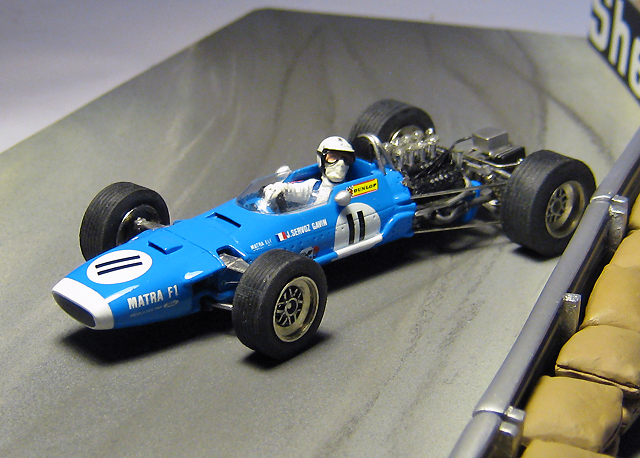 Racing Dioramics 1968 Matra Ms10 Johnny Servoz Gavin At Monaco