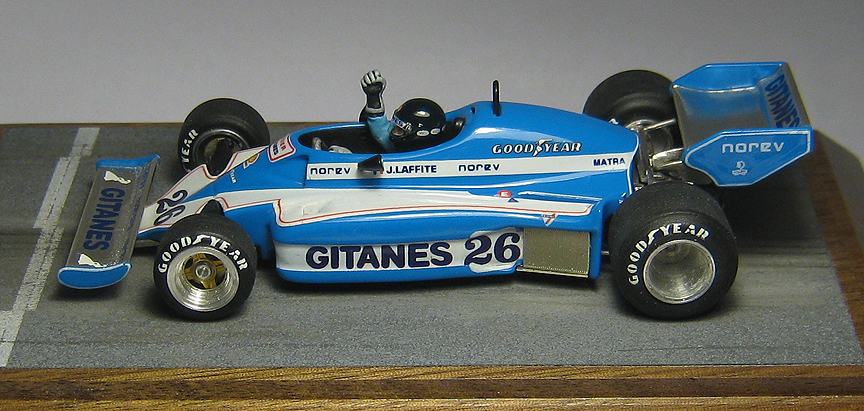 Us Grand Prix >> 1/43 Scale 1977 Ligier JS7 Jacques Laffite Swedish Grand Prix Racing Dioramics
