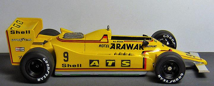 1/43 Scale 1979 ATS D3 F1