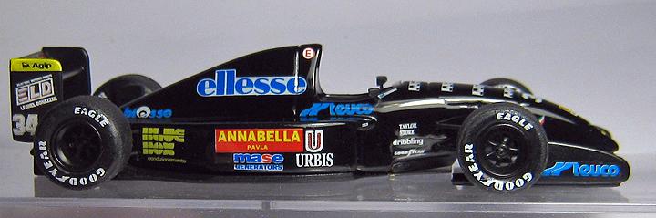 1  43 Scale 1992 Andrea Moda F1
