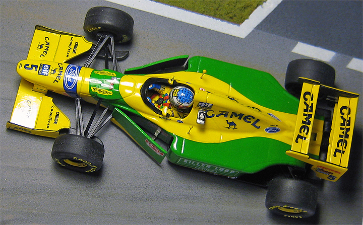 Us Grand Prix >> Racing Dioramics 1993 Benetton B193
